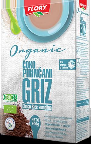 CHOCO RICE SEMOLINA ORGANIC