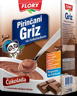 RICE SEMOLINA WITH CHOCOLATE