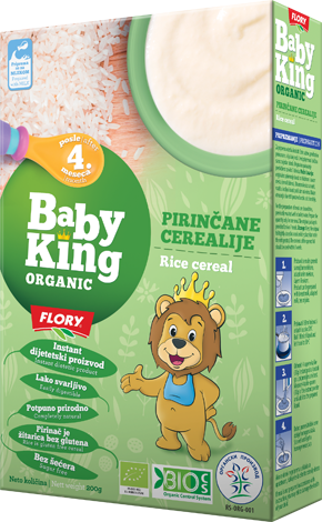 BABY KING RICE CEREAL ORGANIC
