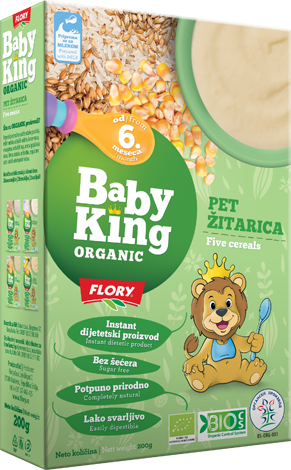 BABY KING PET ŽITARICA ORGANIK